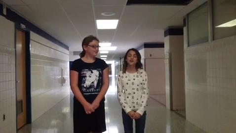 Thumbnail for entry PSA: 6th Grade Transitions (Alisa & Chelsea)