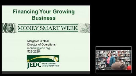 Thumbnail for entry Margaret O'Neal - Workshop: Financing Your Growing Business