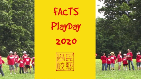 Thumbnail for entry PlayDay Opening Ceremony