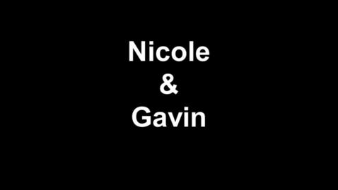 Thumbnail for entry Nicole & Gavin