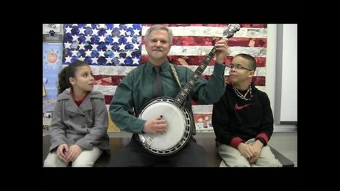 Thumbnail for entry Mr. Murray Plays the Banjo