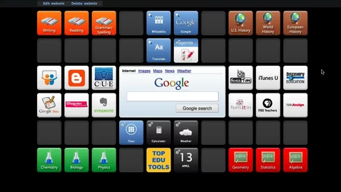 Thumbnail for entry SymbalooEDU Screencast: Wallpapers Feature