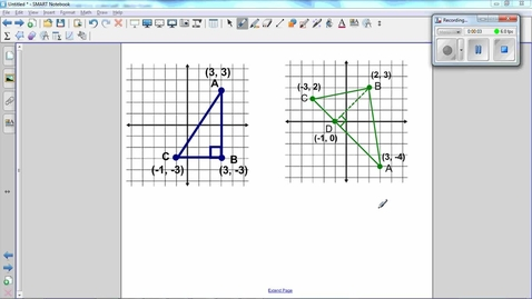Thumbnail for entry Triangles on a Coordinate Grid, Find the area of a triangle -Q6