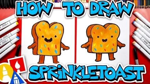Thumbnail for entry How To Draw Sprinkle Toast From YouTube Kids