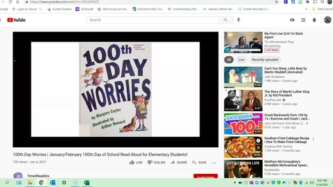 Thumbnail for entry 100th Day Worries