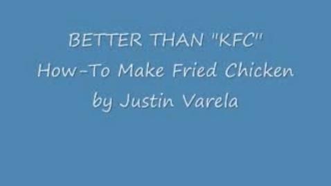 "Thumbnail for entry Better Than ""KFC"""