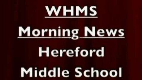 Thumbnail for entry 10-12-11 WHMS Morning News