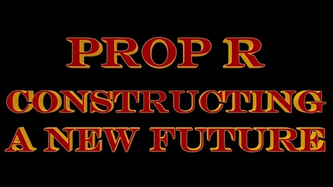 Thumbnail for entry Prop R- Constructing A New Future