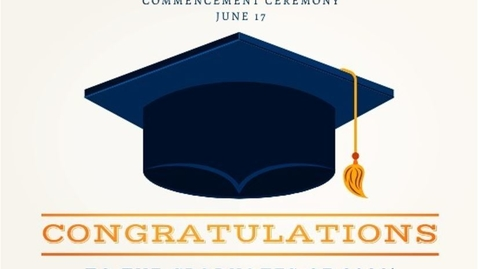 Thumbnail for entry Graduation 2020