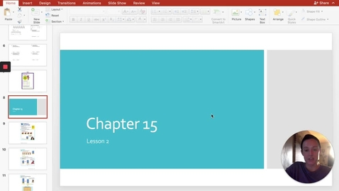 Thumbnail for entry Chapter 15 - Lesson 2