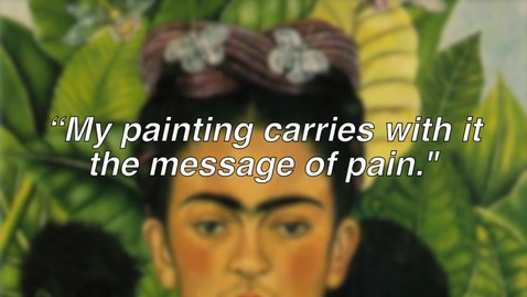 Thumbnail for entry intro to frida kahlo for kids
