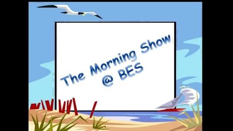 Thumbnail for entry The Morning Show @ BES - December 1, 2016