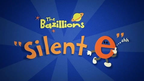 """Thumbnail for entry """"Silent e"""" by The Bazillions"""