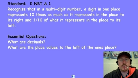 Thumbnail for entry Understanding Decimals
