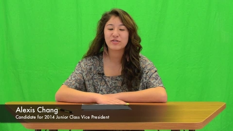 Thumbnail for entry Candidates for Class of '14 Junior Class VP