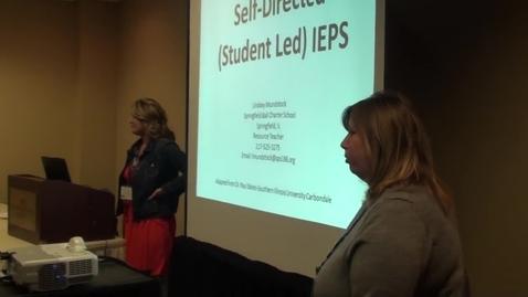 Thumbnail for entry Student Led IEPs