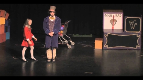 """Thumbnail for entry Chanelle O'Neill sings """"I Want It Now"""" from Willy Wonka"""