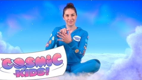 Thumbnail for entry How to beat nerves! | Cosmic Kids Zen Den - Mindfulness for kids