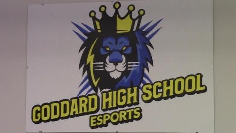 Thumbnail for entry Goddard E-Sports