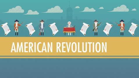 Thumbnail for entry Tea, Taxes, and The American Revolution: Crash Course World History #28