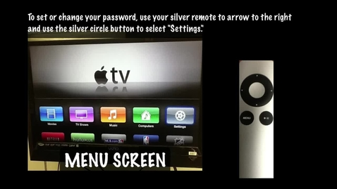 Thumbnail for entry Mirroring Your iPad on Apple TV