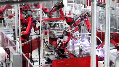 Thumbnail for entry How Tesla Model S is Made