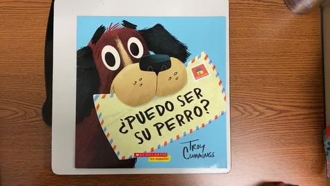 Thumbnail for entry Lectura- martes 11/10/20 ¿Puedo ser su perro?