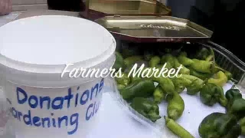 Thumbnail for entry Farmers Market 3