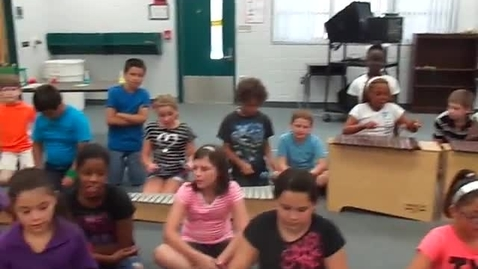 """Thumbnail for entry Ms. Poole's 5th grade class """"Up, Up, Down"""""""