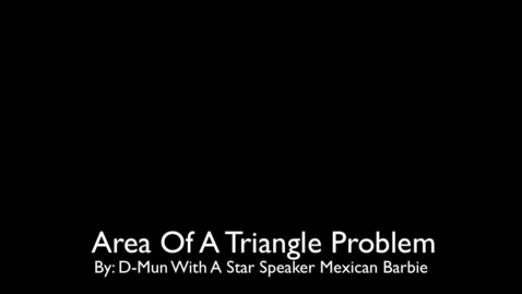 Thumbnail for entry Algebra 'Triangle' Problem