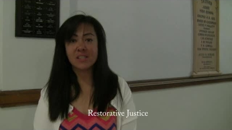 Thumbnail for entry Restorative Justice