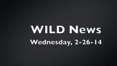 Thumbnail for entry WILD News 2-26-14