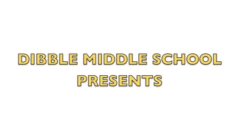 Thumbnail for entry Dibble Middle School News