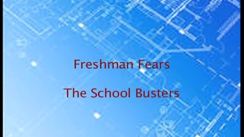Thumbnail for entry Mythbusters: Freshman Fears