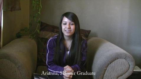 Thumbnail for entry Skinner Graduate