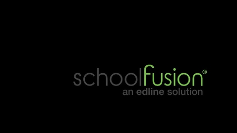 Thumbnail for entry Welcome to School Fusion