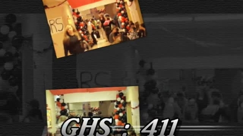 Thumbnail for entry GHS:411 Homecoming Week