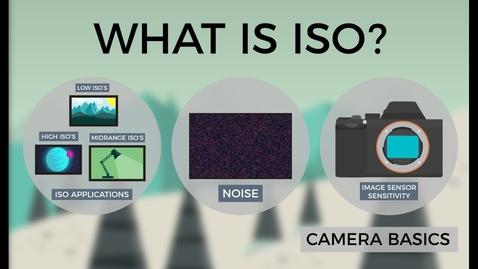 Thumbnail for entry Camera Basics - ISO