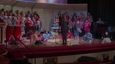 """Thumbnail for entry Sunrise Elementary 5th Grade Concert """"Old Dan Tucker"""""""