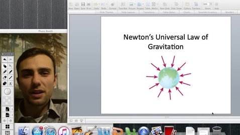 Thumbnail for entry Universal Law of Gravitation