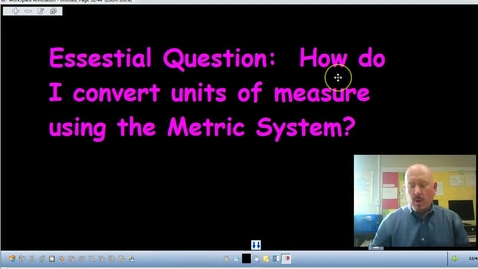 Thumbnail for entry Converting Metric Units of Measurement