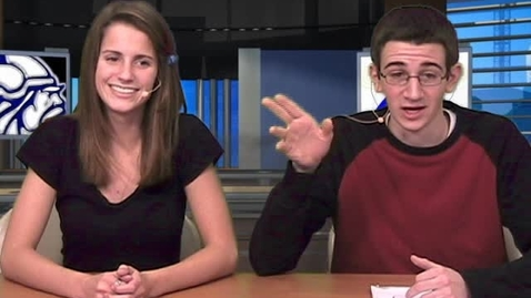 Thumbnail for entry First Viking Vision Newscast Debut Wed 1-20-2010 #1