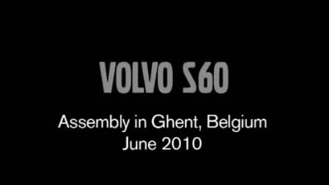Thumbnail for entry Volvo S60 in the factory