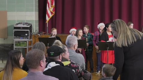 Thumbnail for entry Squantum Elementary Holiday Concert 2019
