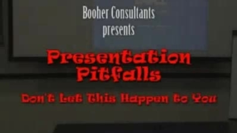 Thumbnail for entry Presentation Pitfalls by Booher Consultants