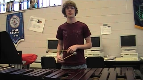 Thumbnail for entry Mallet audition into and solo performance