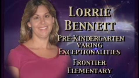 Thumbnail for entry Lorrie Bennett-Teacher profile