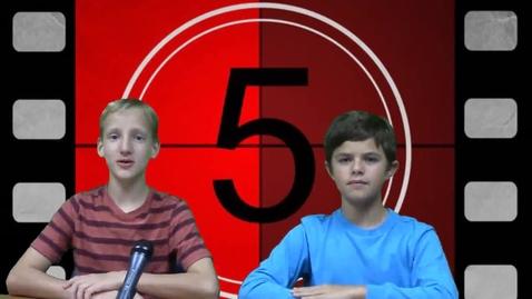 Thumbnail for entry Take 5 Episode 6 Season 1