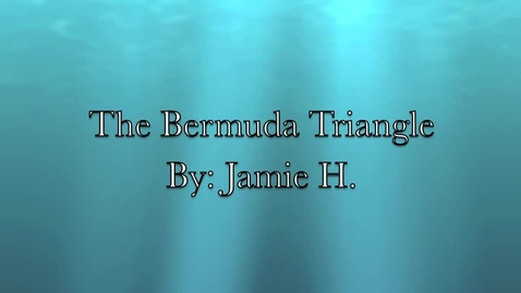 Thumbnail for entry Jamie Bermuda Triangle