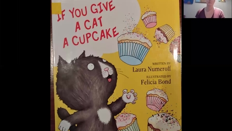 Thumbnail for entry If you give a cat a cupcake readaloud